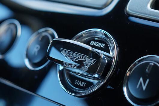 Изготовление ключей для автомобиля Aston Martin