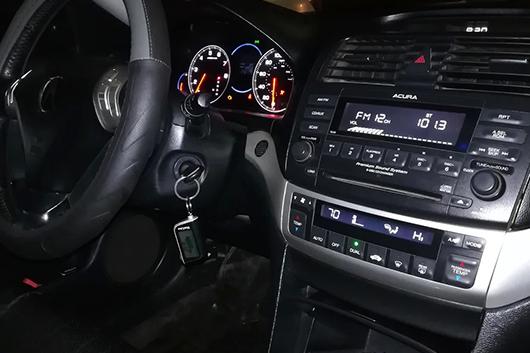 Сделать ключ для автомобиля Acura с чипом