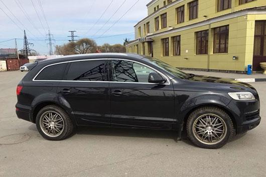 Заблокирован руль Audi