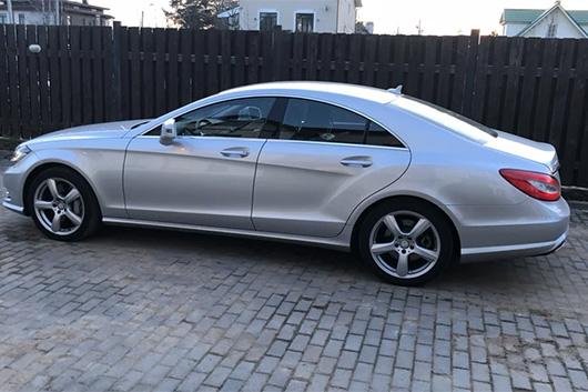 Заблокирован руль Mercedes