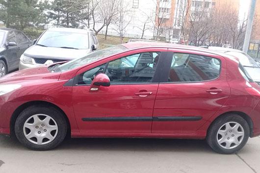 Заблокирован руль Peugeot