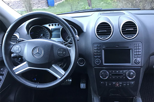 Замена личинки замка Mercedes