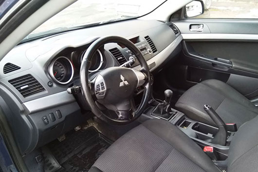 Замена замка зажигания на новый Mitsubishi